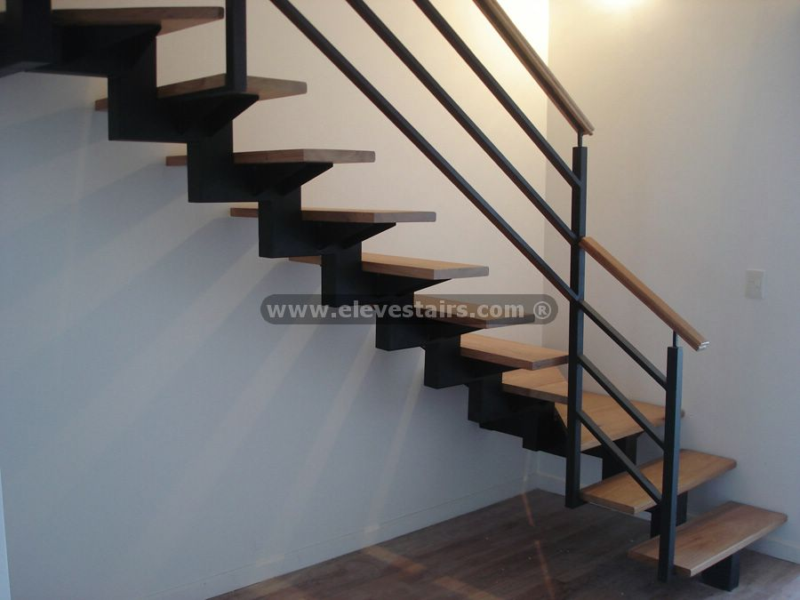 Design stairs custom built stairs for Materiales para hacer una escalera