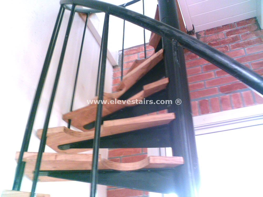 Space Saving Stairs Stairs Stair Half Spiral Stairs