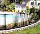 pool railings