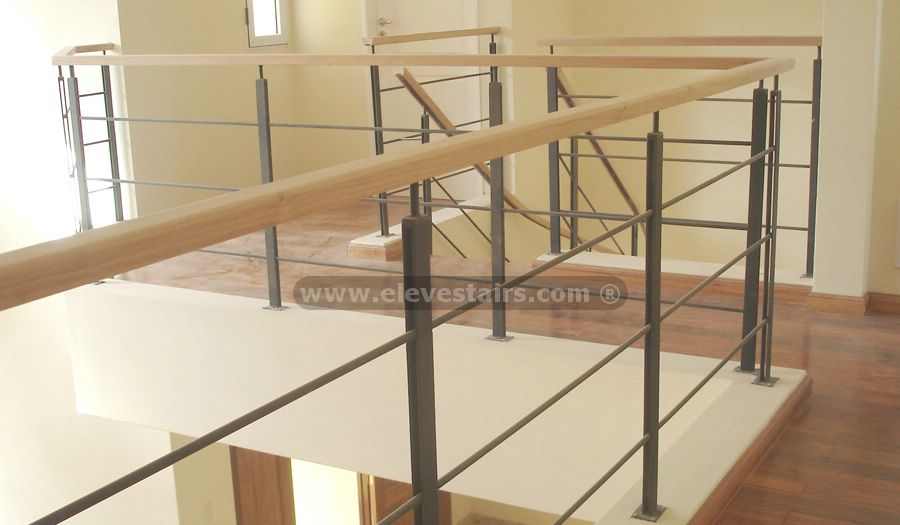 Railings of Housings, Metalic Railings, Stainless Steel, Glass, Wood