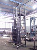 rolling warehouse ladders