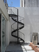 spiral tape stairs