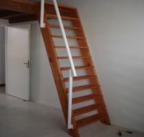 vertical stairs