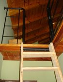 removable vertical stairs