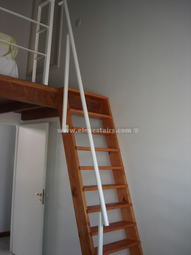 Space Saving Stairs, Vertical Stairs Eleve, Metallic .