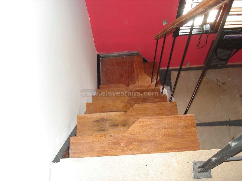 Alternated Treads Stairs Design Space Saving Stairs