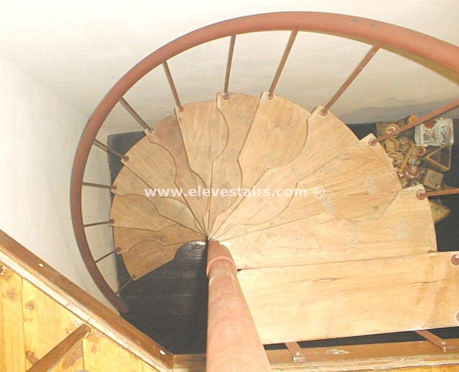 Half Spiral Stairs Space Saving Stairs Hillocks Garrets